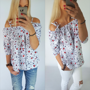 Blouse Alice - stars