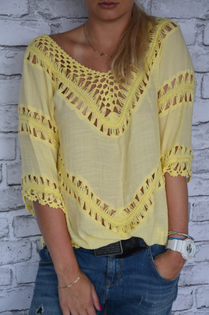 Canary blouse-tunic