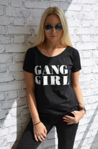 T-shirt Gang- black