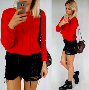 Sweter Plus (red)