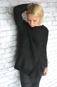 Sweater tulle (black)