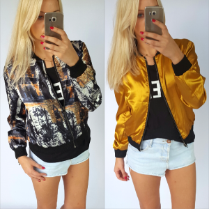 Bomber jacket - fantasy (two-sided)